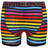 Crosshatch Men's Refracto 2-Pack Boxers - Multi/Black: Image 4