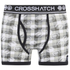 Crosshatch Men's Pixflix 2-Pack Boxers - Charcoal Marl: Image 2