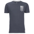 Crosshatch Men's Formalhaut Back Print T-Shirt - Periscope: Image 1