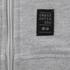 Crosshatch Men's Gixer Zip Through Hoody - Grey Marl: Image 4