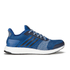 adidas Men's Ultra Boost ST Running Shoes - Blue: Image 1