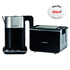 Bosch Styline Collection TWK8633GB Kettle and TAT8613GB Toaster Bundle - Black: Image 1
