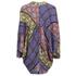 MINKPINK Women's Pepper and Splice Circular Kimono Cape - Multi: Image 2