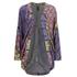 MINKPINK Women's Pepper and Splice Circular Kimono Cape - Multi: Image 1