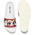 Jil Sander Navy Women's Graphic Flowers Slide Sandals - Red/White: Image 5