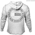 Better Bodies Men's Long Sleeve Cover Up Hoody - White Melange: Image 2