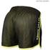 Better Bodies Women's Race Mesh Shorts - Black/Lime: Image 2