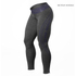 Better Bodies Women's Shaped Logo Tights - Anthracite/Purple: Image 1