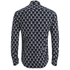 Scotch & Soda Men's Patterned Long Sleeved Shirt - Multi: Image 2