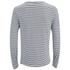 Scotch & Soda Men's Long Sleeved Grandad T-Shirt - Grey Melange: Image 2