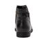 UGG Women's Demi Leather Flat Ankle Boots - Black: Image 3