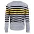 Munthe Women's Empire Navy Stripe Detail Sweatshirt - Navy: Image 2