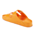Birkenstock Women's Arizona Slim Fit Double Strap Sandals - Neon Orange: Image 4