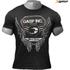 GASP Men's Rough Print T-Shirt - Wash Black: Image 1