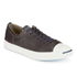 Converse Jack Purcell Men's WR Tumbled Leather Trainers - Burnt Umber/Egret: Image 2