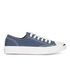 Converse Jack Purcell Unisex Canvas Trainers - Navy/White: Image 1