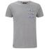 Threadbare Men's New Orleans Pocket T-Shirt - Grey Marl: Image 1