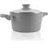 Tower T90922G Taper Ceramic Coated Casserole Dish - Grey - 24cm: Image 2