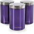 Morphy Richards 974102 6 Piece Storage Set - Plum: Image 2