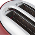 Akai A20001R 2 Slice Cool Touch Toaster - Red: Image 3