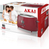Akai A20001R 2 Slice Cool Touch Toaster - Red: Image 5