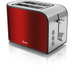 Swan ST17020RedN 2 Slice Toaster - Red: Image 1