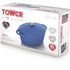 Tower IDT90003 Cast Iron Oval Casserole Dish - Blue - 29cm: Image 5
