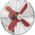 Swan SFA1020RN Retro Stand Fan - Red - 16 Inch: Image 2