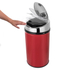 Morphy Richards 971496/MO Round Sensor Bin - Red - 30L: Image 2