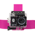 Kitvision Head Strap Mount for Action Cameras (GoPro, Kitvision: Edge H10, Splash, Esc 5 & Esc 5W) - Pink: Image 3