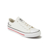 Crosshatch Men's New Halfpipe Canvas Trainers - White: Image 4