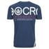 Crosshatch Men's Atlantic Back Print T-Shirt - Insigia Blue: Image 2