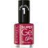 Rimmel Super Gel Nail Polish Duo Kit (2 x 12ml) - Rock 'n' Roll: Image 1