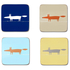 Scion Mr Fox Coasters - Set of 4: Image 1