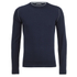 John Smedley Men's Kernick Merino Crew Neck Jumper - Midnight: Image 1