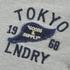 Tokyo Laundry Men's Arturo Button Long Sleeve Top - Light Grey Marl: Image 5