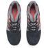 Asics Gel-Lyte III 'Granite Pack' Trainers - Black/Chilli: Image 2