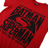 DC Comics Batman vs. Superman Gotham Guardian Herren T-Shirt - Rot: Image 3