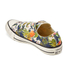 Converse Women's Chuck Taylor All Star Canvas Print OX Trainers - Inked/Egret/Black: Image 4