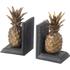 Parlane Pineapple Bookends - Metallic: Image 1
