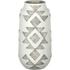 Parlane Lopez Ceramic Vase - Cream (420mm x 220mm): Image 1