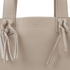 UGG Women's Lea Leather Fringed Tote Bag - Taupe: Image 3