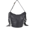 UGG Women's Lea Leather Hobo Bag - Black: Image 1