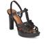 Lauren Ralph Lauren Women's Shania Heeled Sandals - Black: Image 2
