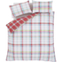 Catherine Lansfield St. Ives Check Bedding Set - Pink: Image 2