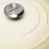 Le Creuset Signature Cast Iron Round Casserole Dish - 28cm - Almond: Image 3