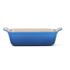Le Creuset Stoneware Small Heritage Rectangular Roasting Dish - Marseille Blue: Image 2