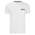 Brave Soul Men's Faustian Zip Pocket T-Shirt - White: Image 1