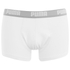 Puma Men's 2 Pack Basic Trunks - White/Grey: Image 4