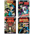 DC Comics Batman Comic Covers Set of 4 Coasters: Image 1
